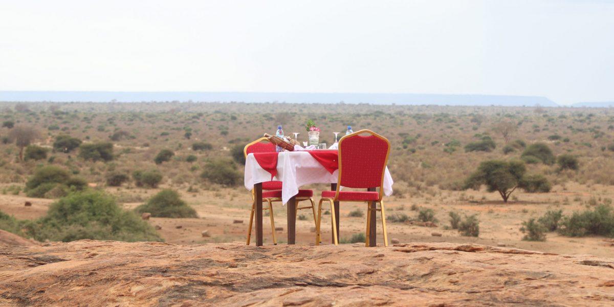 Dine on Mudanda Rock 2